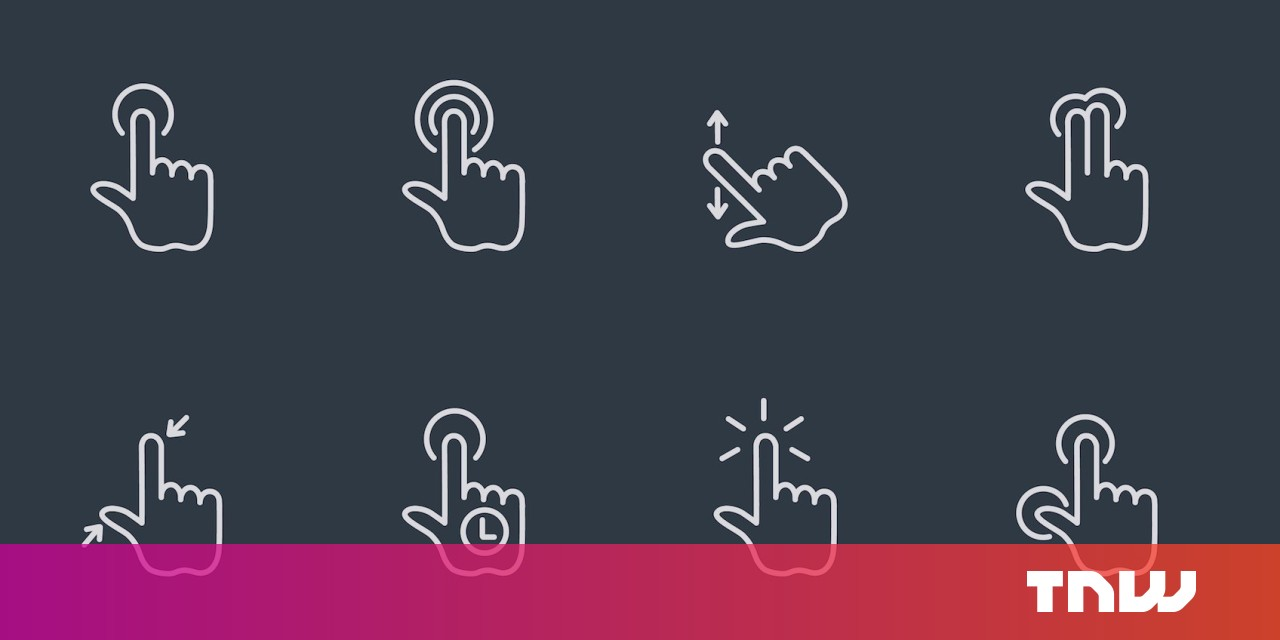 How to implement gestures into your mobile design