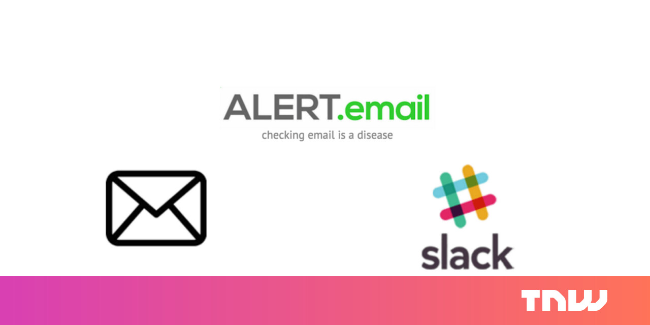 Automatically send your important emails to a private Slack channel