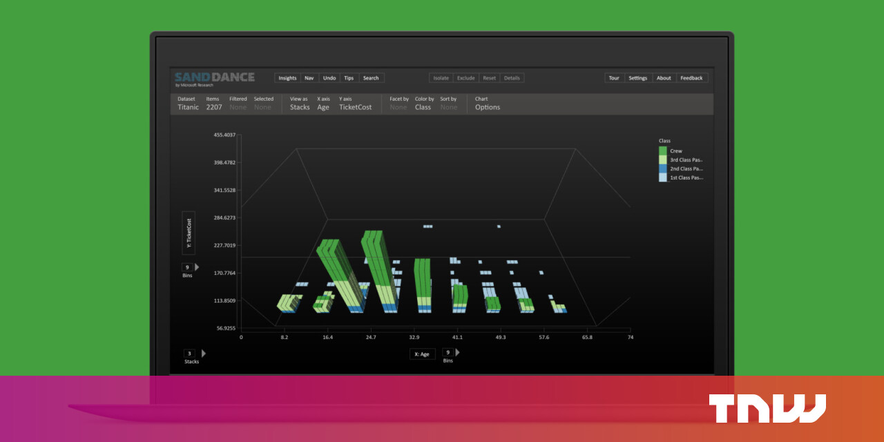 Microsoft has a new data visualization tool you can use for free