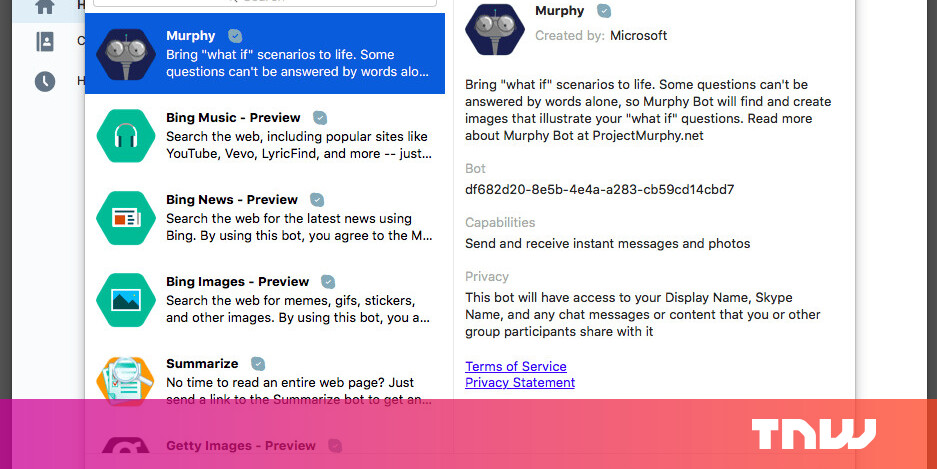 Microsoft brings Skype bots to Mac and the Web