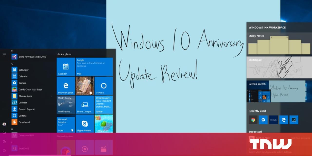 Windows 10 Anniversary Update Review and Recap
