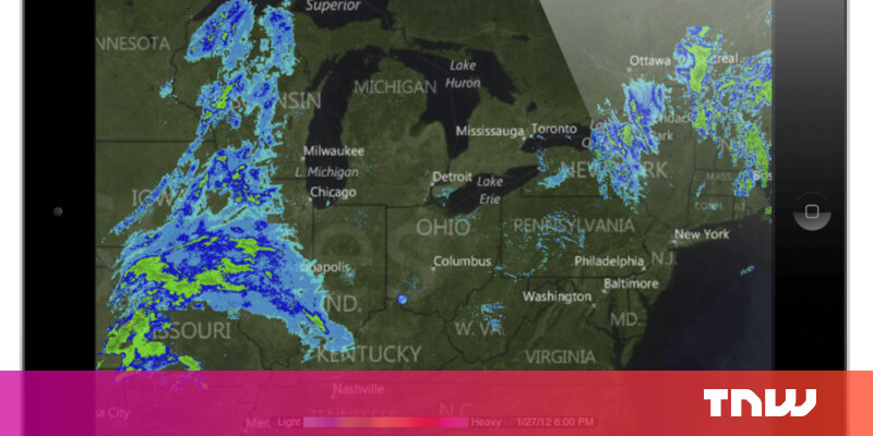 The weather app dominating the field of aviation with over