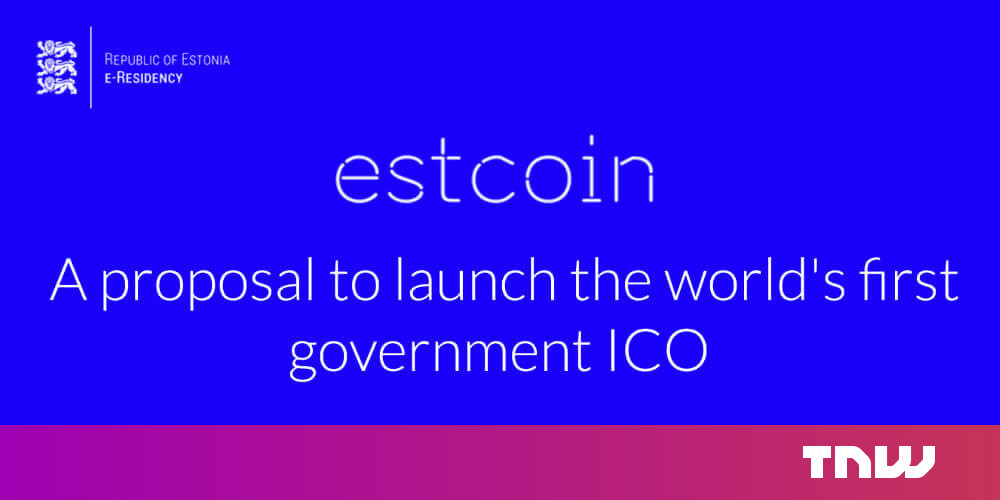 Estonia is looking into starting its own national cryptocurrency