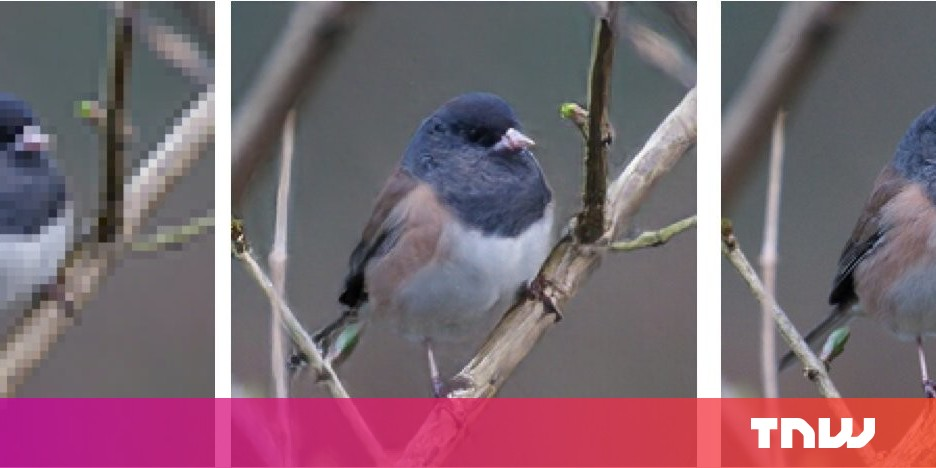 This new AI can make your low resolution photos great again