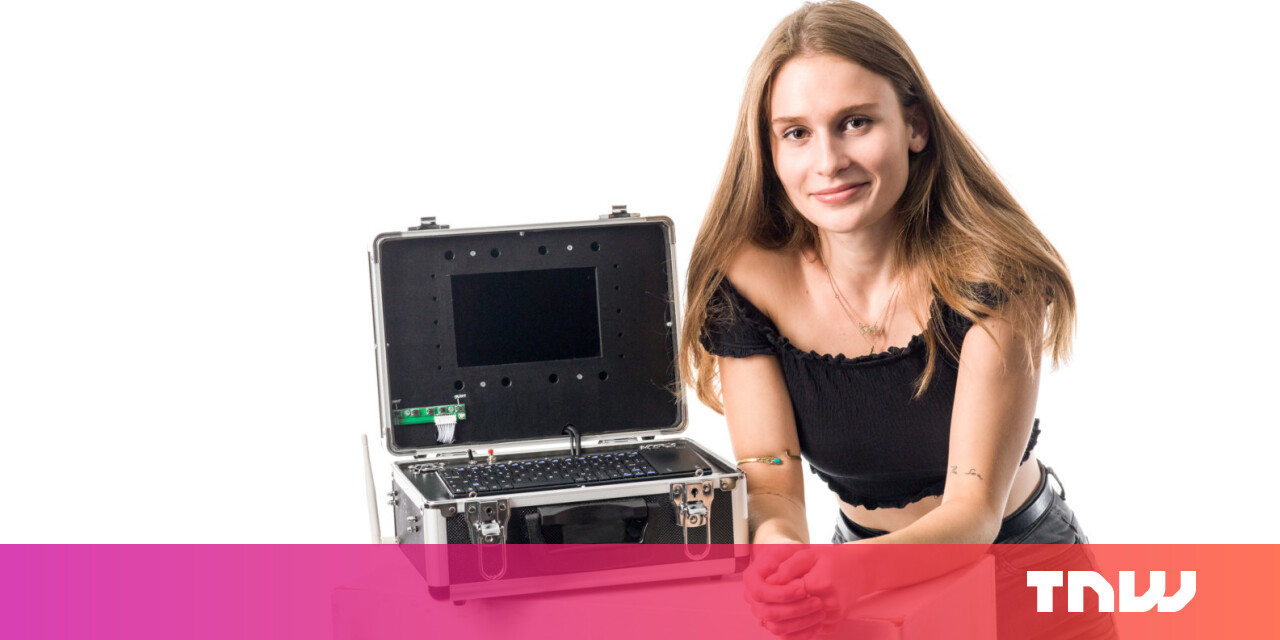 High school girl built a hacking station to get people into data security