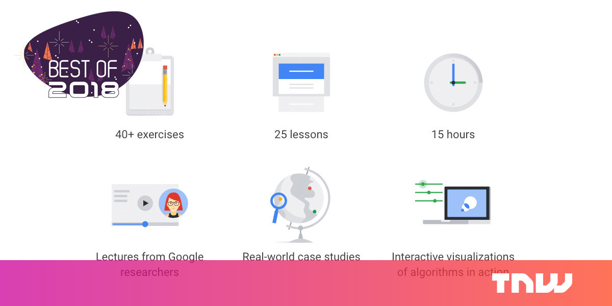 [Best of 2018] You can take Google's Machine Learning Crash Course for free