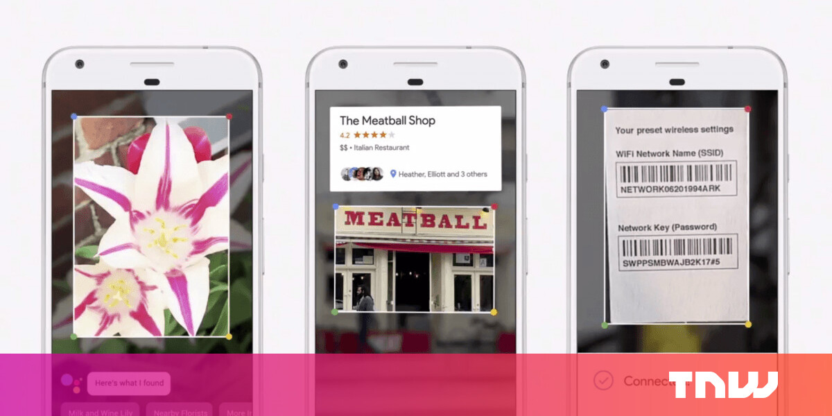 Google Lens now describes landmarks and creates contacts