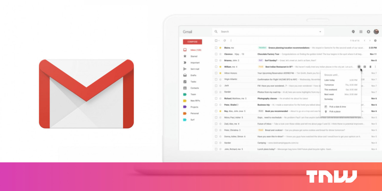 Google: Gmail will get a 'major' redesign soon
