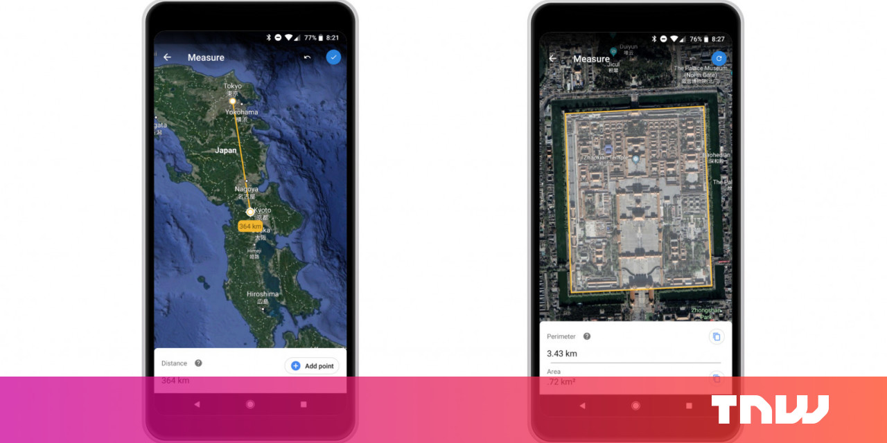 Google Earth's new measuring tool is a fun toy for geography