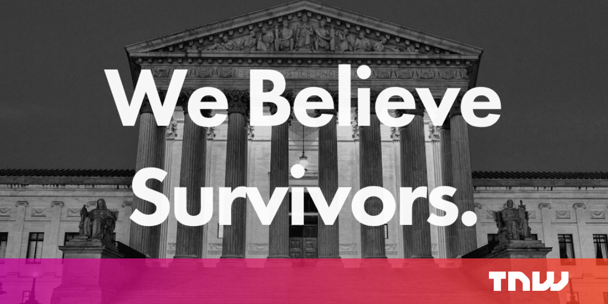 Someone turned BrettKavanaugh.com into a resource for sexual assault survivors