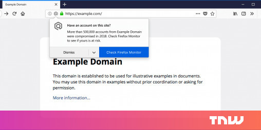 Firefox will Notify You When You Visit Breached Websites