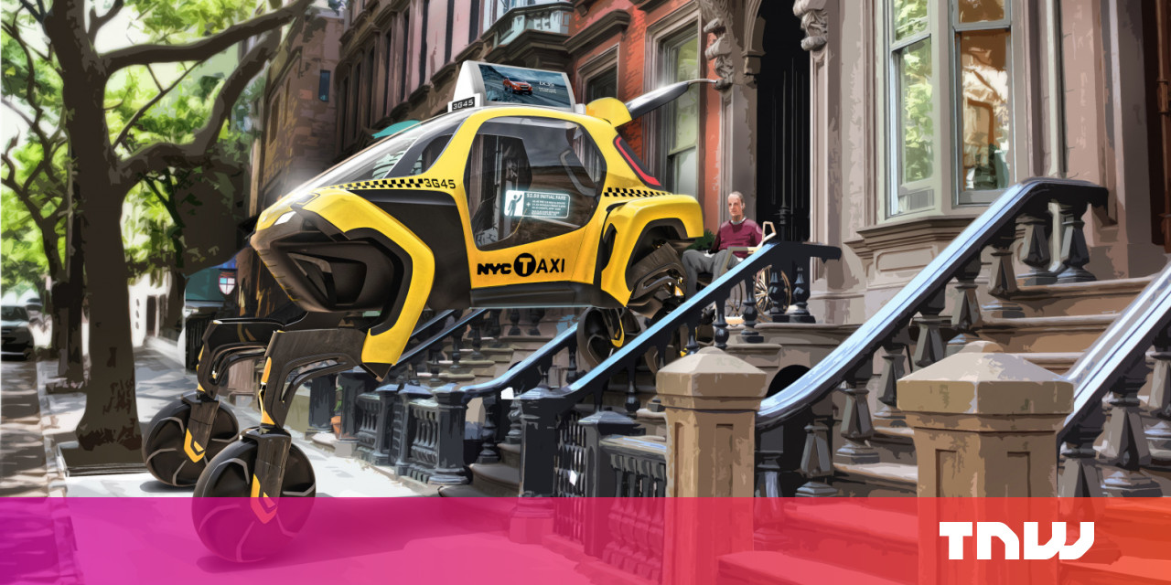 Hyundai's four-legged car isn't the future we imagined, but we'll take it
