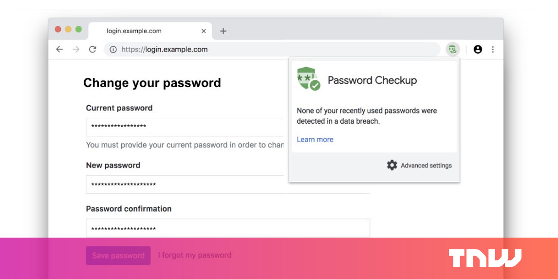 Google's new extension warns you about compromised passwords