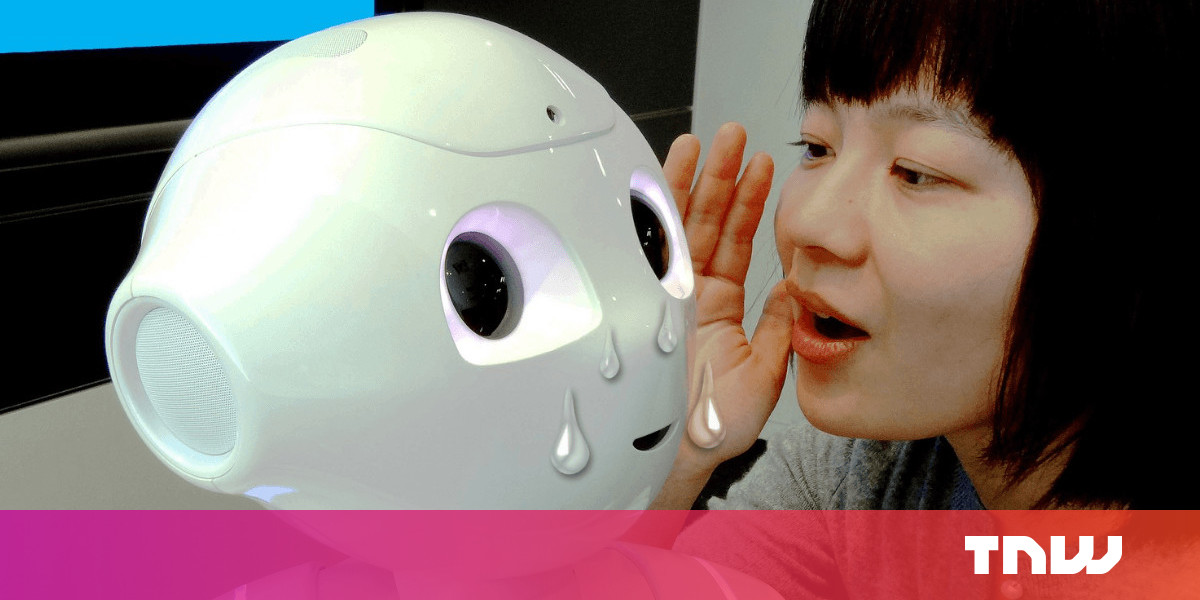 photo image Let's not accidentally build depressed robots