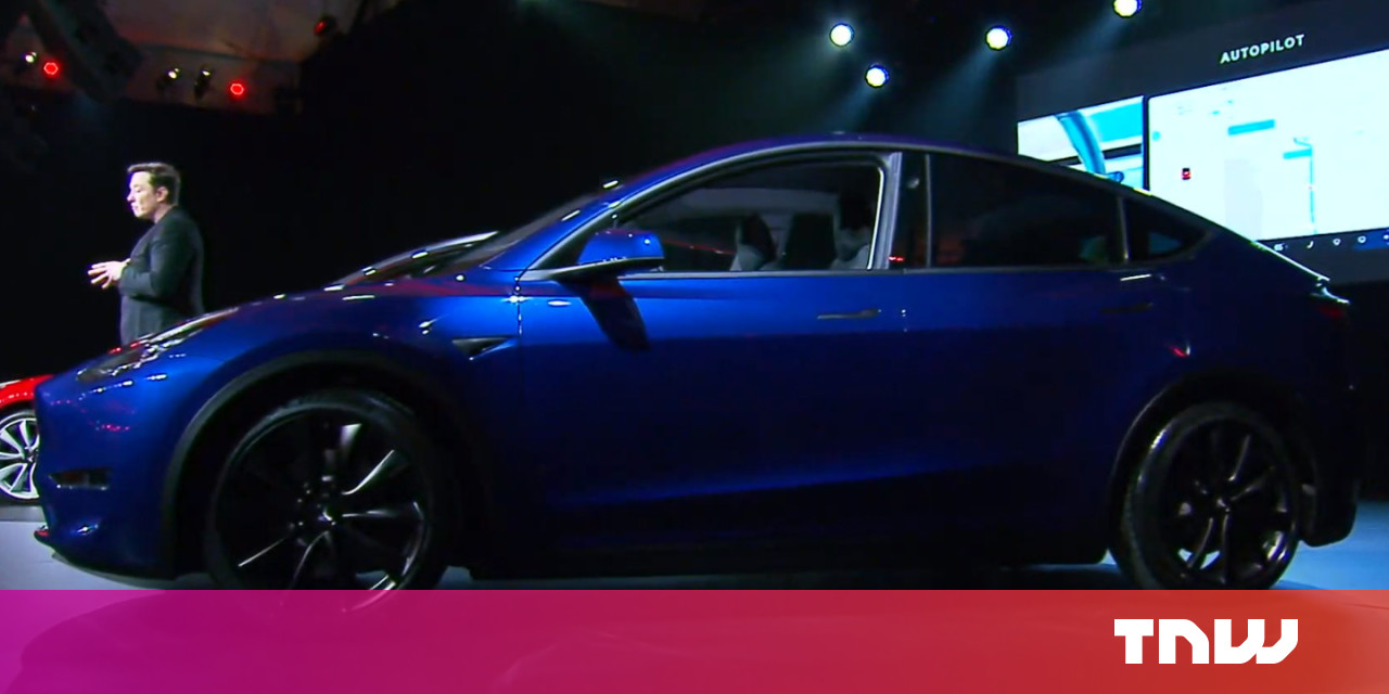 photo of Tesla unveils its Model Y electric SUV, starting at $39,000 and arriving next fall image