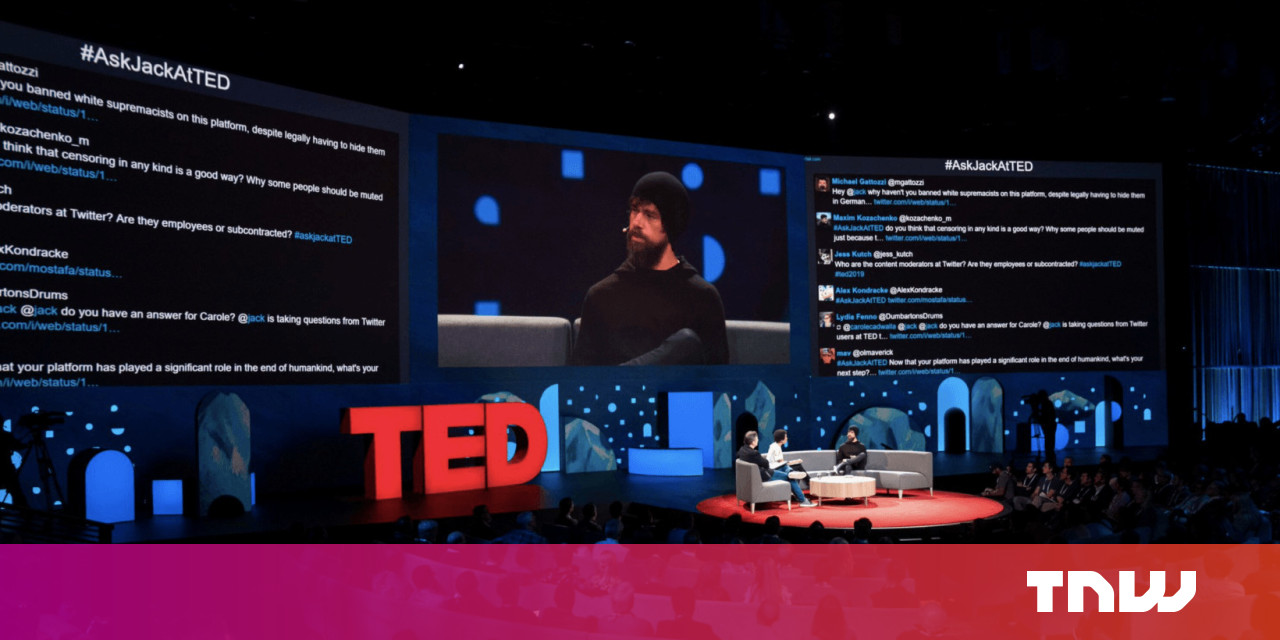 d4a2bc6546 Twitter users trolled Jack Dorsey so hard they had to shut off the screen  during his TED Talk  Update
