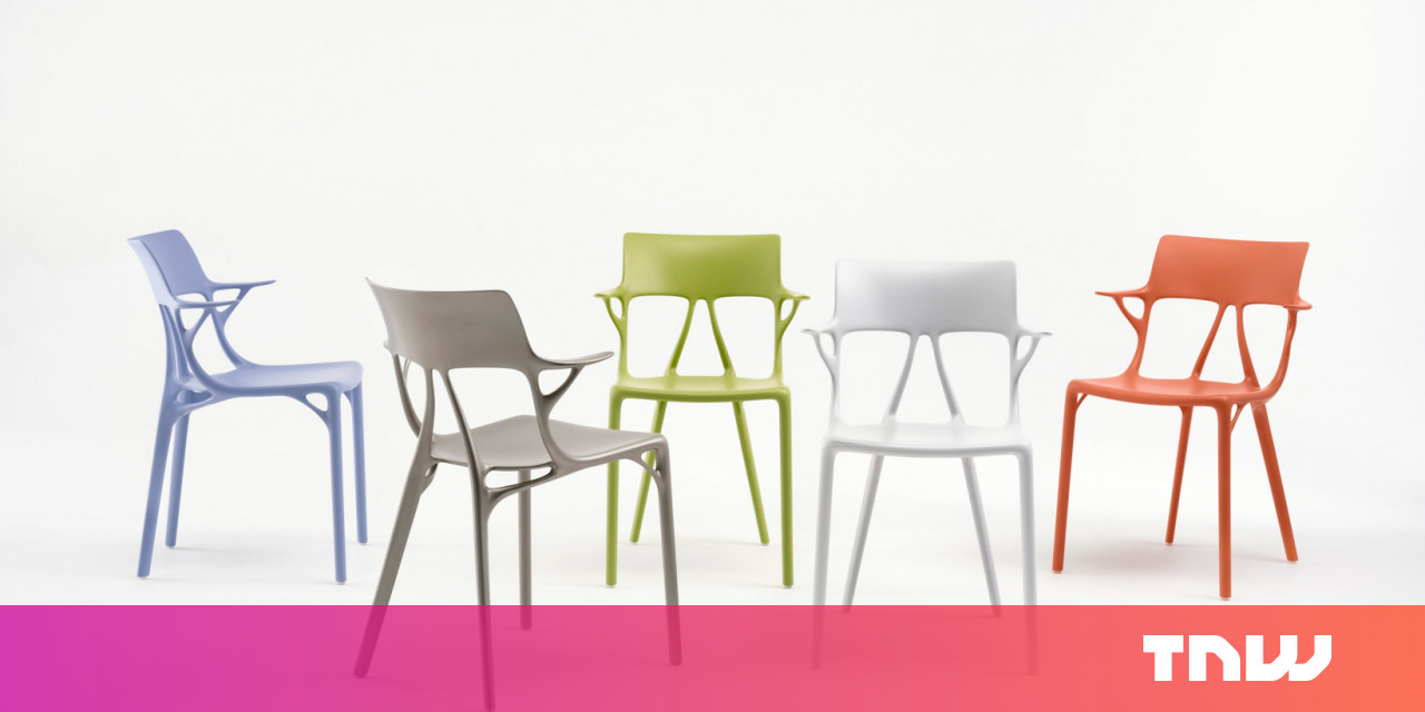 AI rejects conservative human views on furniture, designs wacky chair