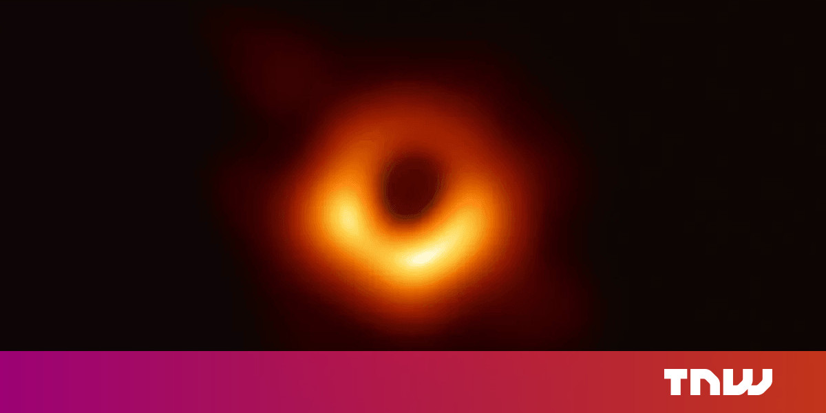 photo of First black hole photo confirms Einstein's theory of relativity image