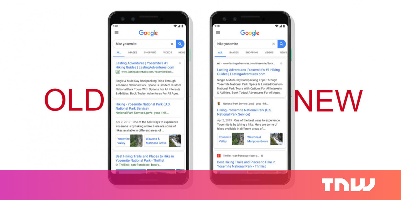 Google Search has a new design -- see if you can spot the difference