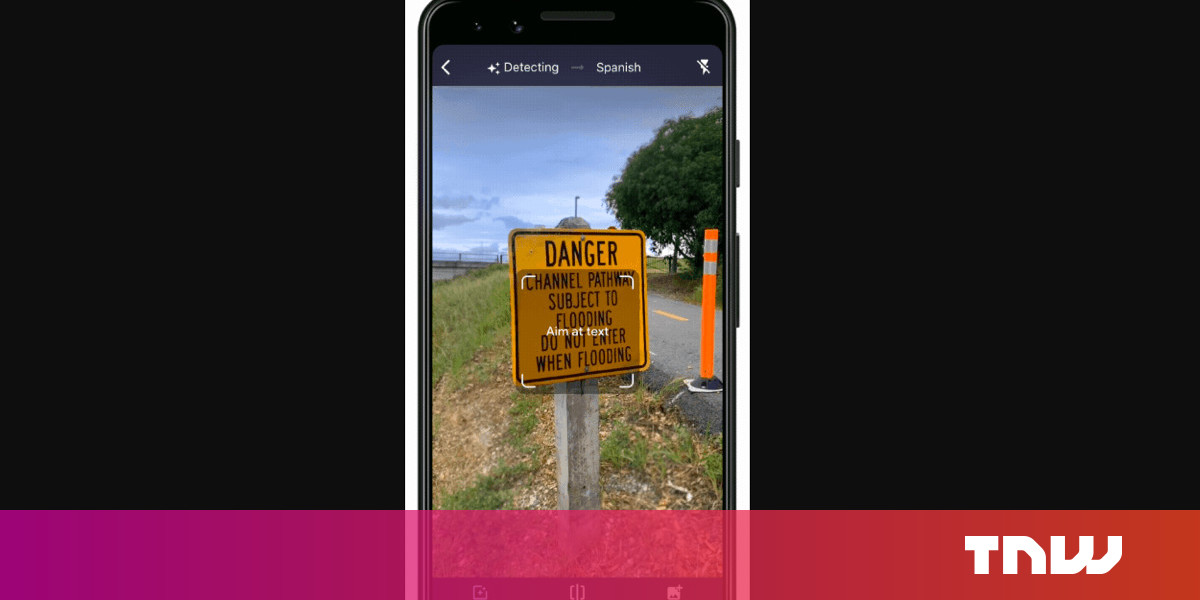 Google Translate's Camera Feature Now Detects and Translates a Whopping 88 Languages