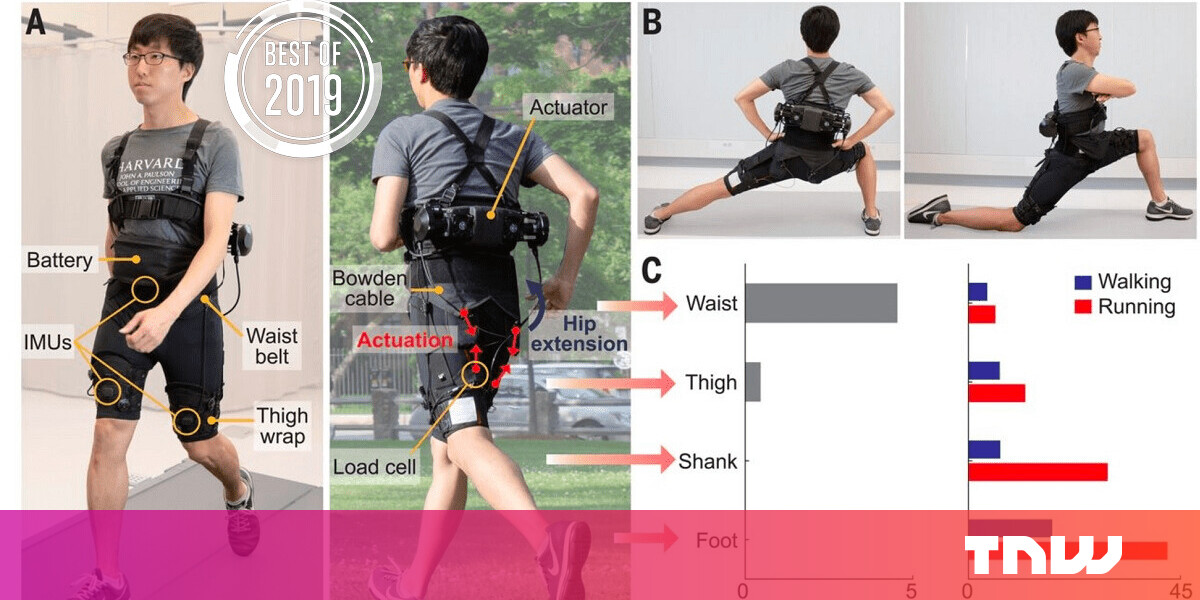 [Best of 2019] Scientists invent robotic biker shorts that help you walk and run