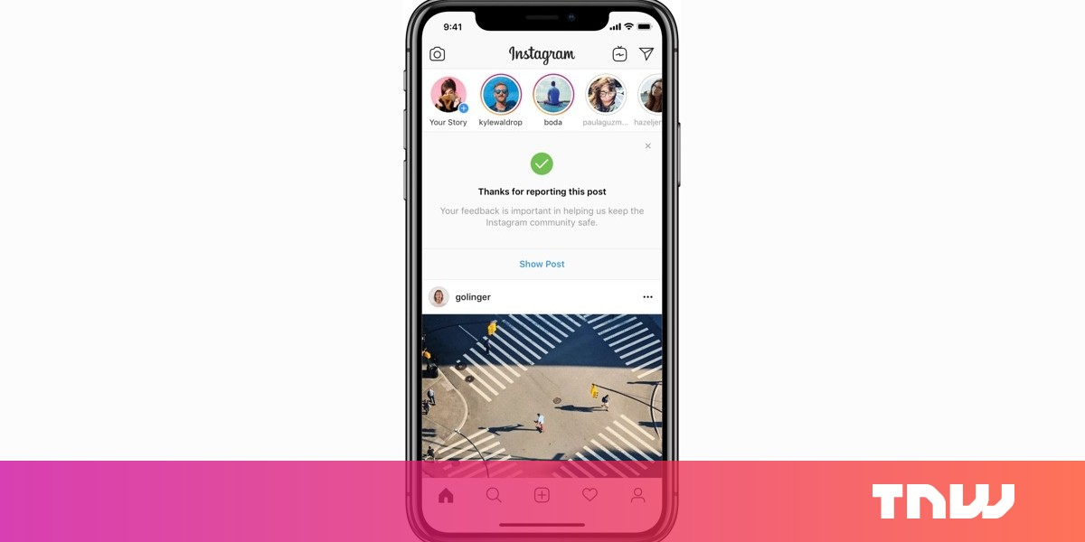 photo of How to report fake news on Instagram image