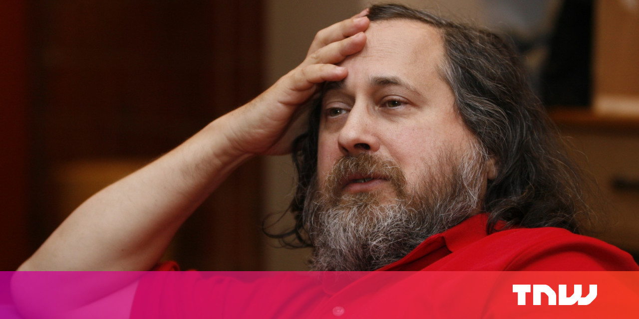 Free software icon Richard Stallman has some moronic thoughts about pedophilia