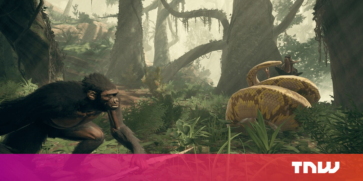 Ancestors is a video game that reveals how the first humans evolved
