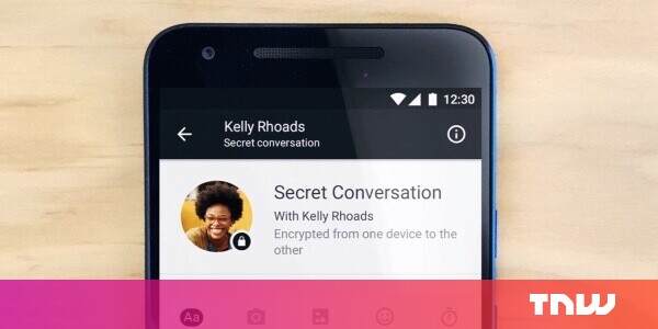 Facebook is testing end-to-end encryption for secret Messenger calls