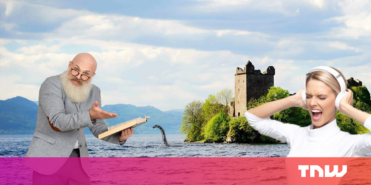 Big meanies use science to debunk the Loch Ness Monster myth