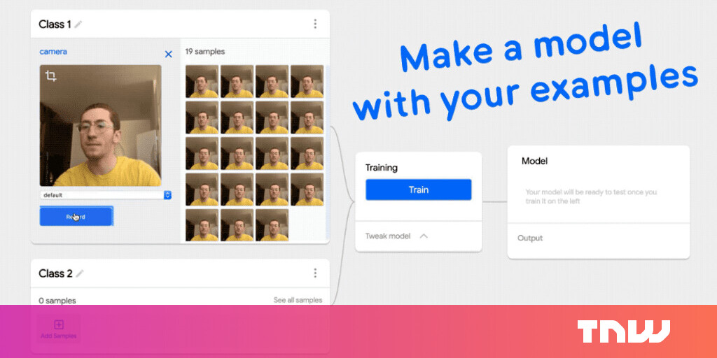 Google updates Teachable Machine so you can train an AI without code