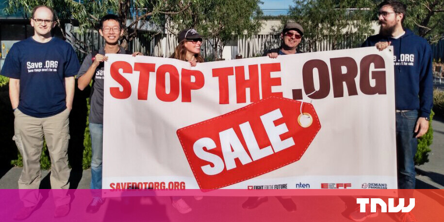 ICANN blocks the sale of .org domain to a private company