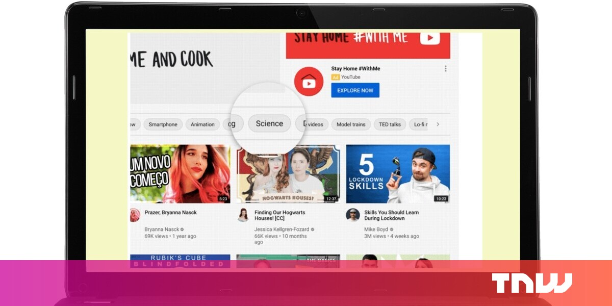 Corona news YouTube rolls out personalized 'topics filters' on iOS and Web