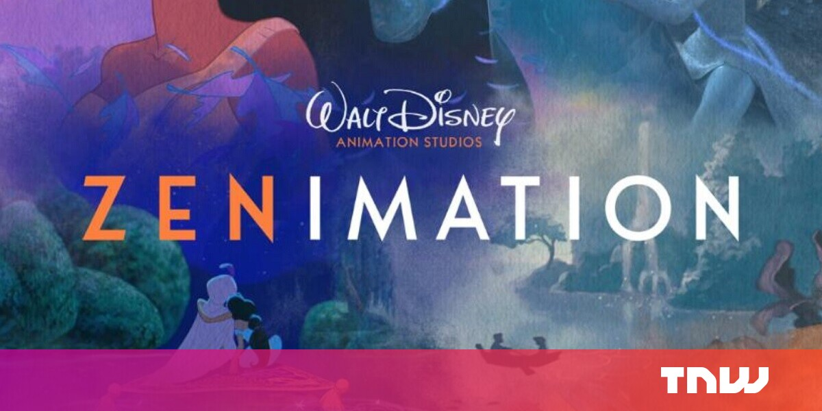 photo of Disney debuts Zenimation, which mixes soothing sounds with familiar art image