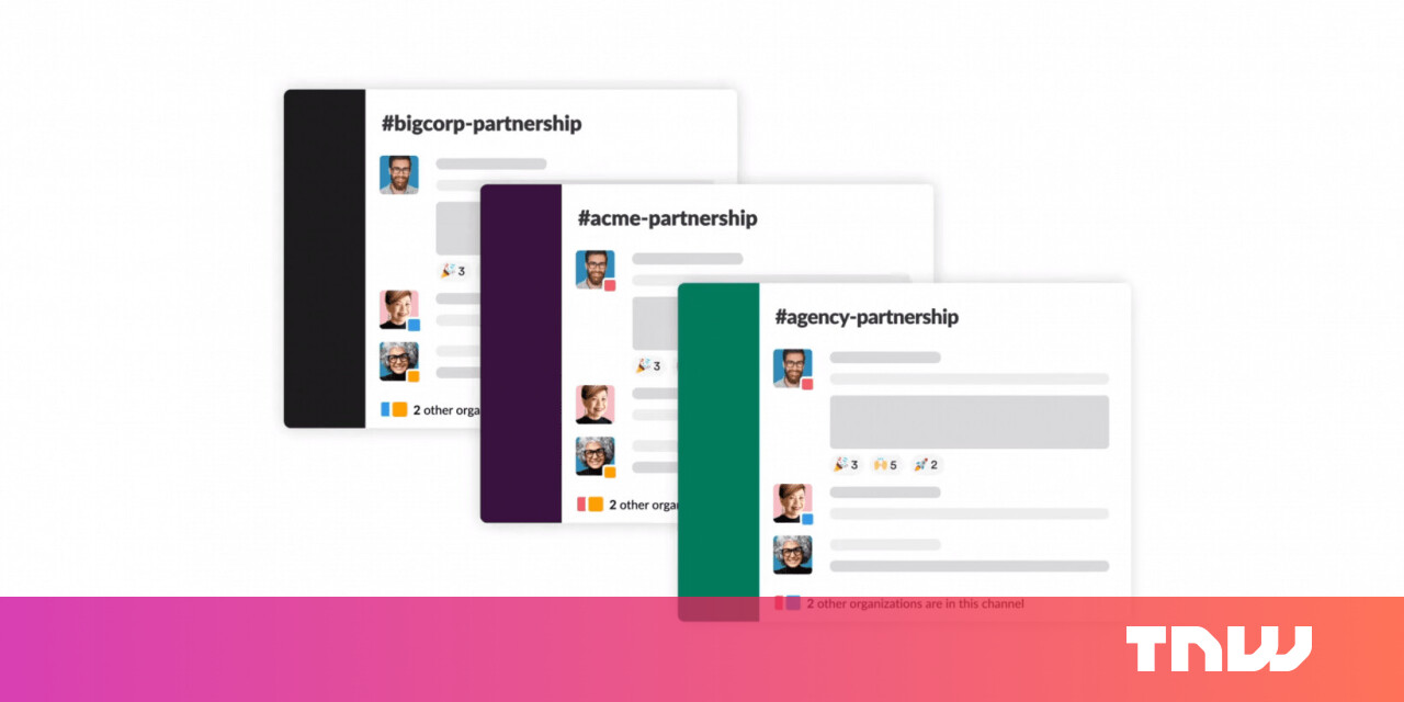 Image of article 'Slack announces Slack Connect, its attempt to replace email across businesses'