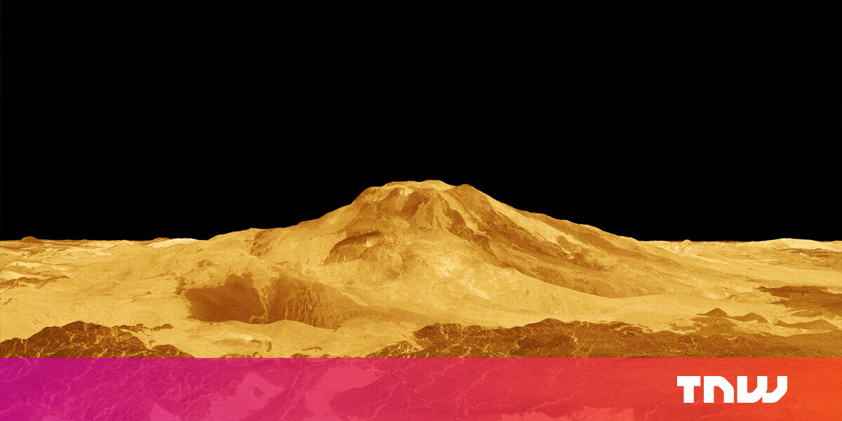 New 3D model reveals Venus' volcanoes are actually still active