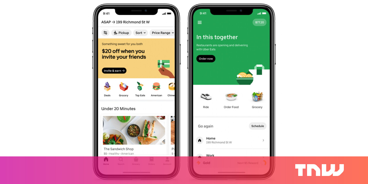 Uber officially launches its grocery delivery service 1