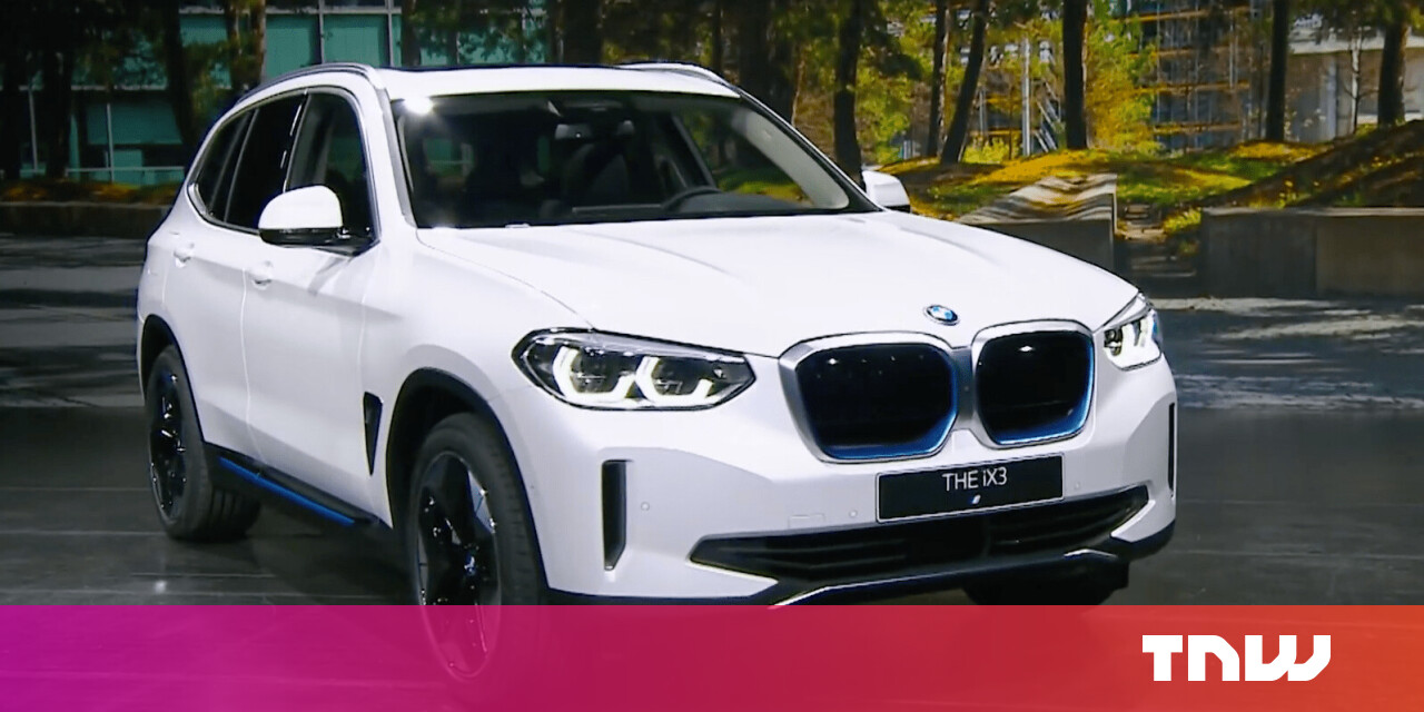 Take a look at the officially unveiled BMW iX3