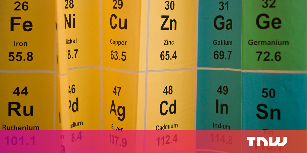 Periodic table: Scientists propose new way of ordering the elements