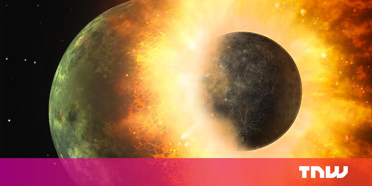 Supercomputer simulation re-enacts the birth of the Moon