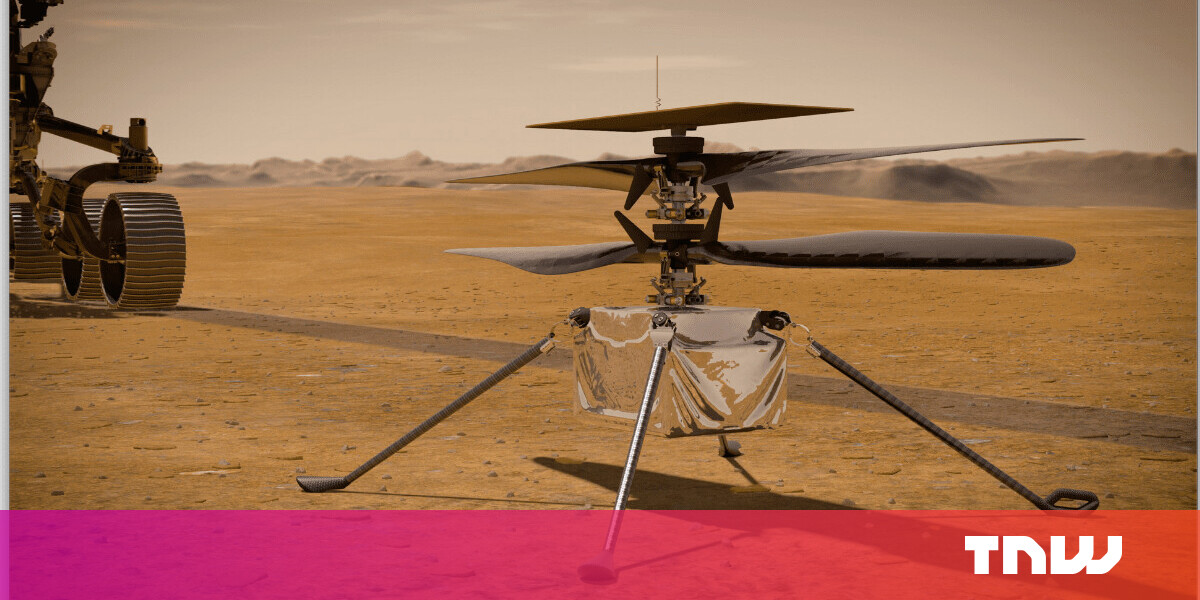NASA unveils plans for the Ingenuity helicopter's first flight on Mars