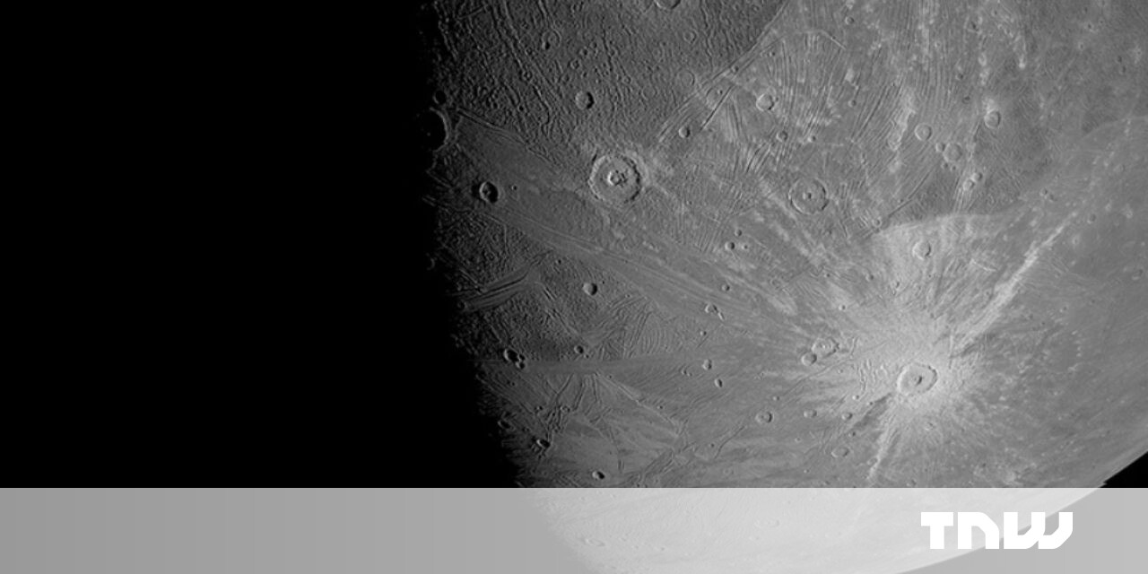 Scientists detect water vapor in the atmosphere of Jupiter's largest moon