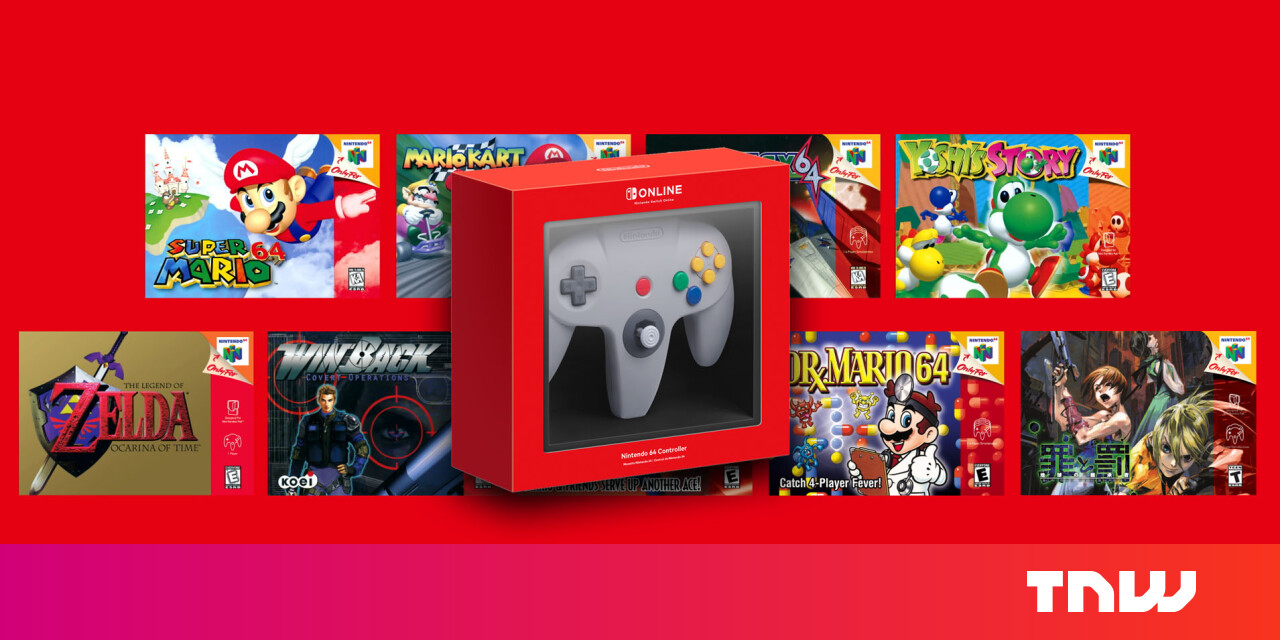 The Nintendo Switch gets classic N64 games — and its controller