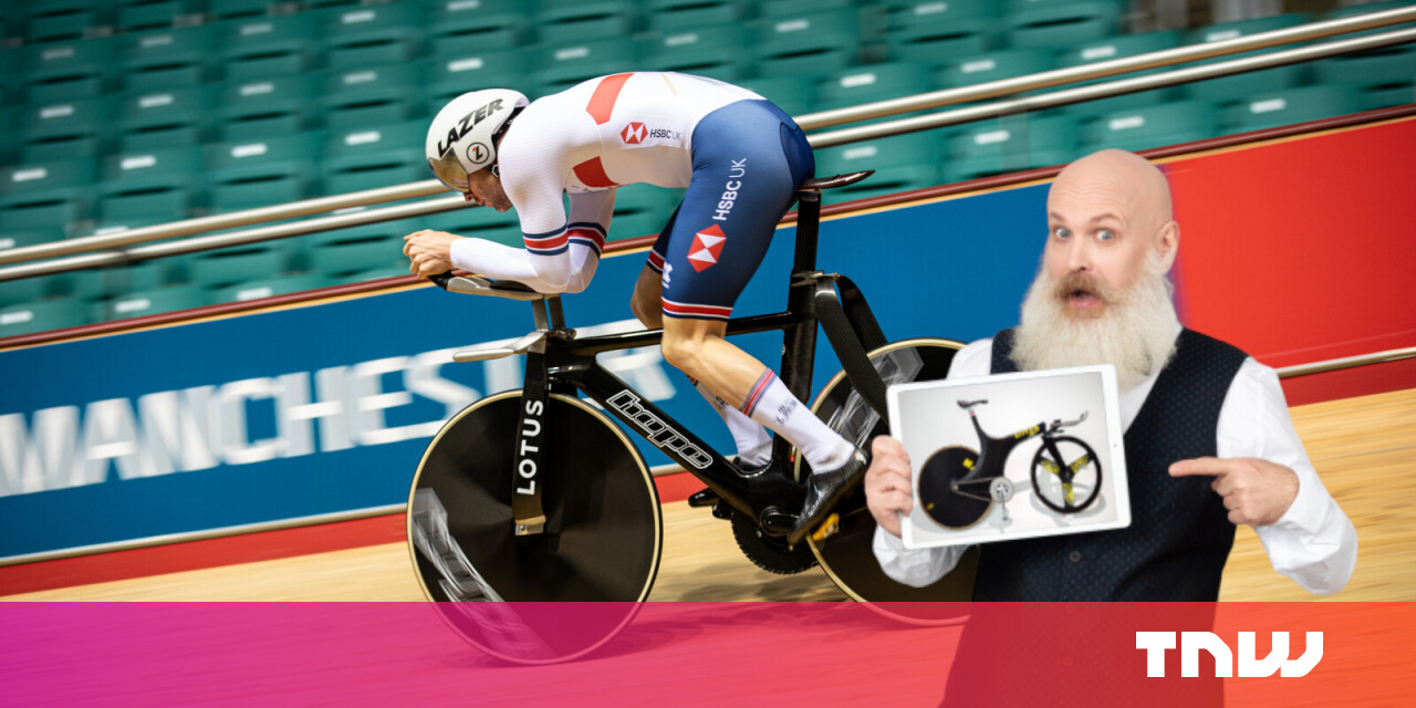 This new Olympic track bike is so crazy it'll probably get