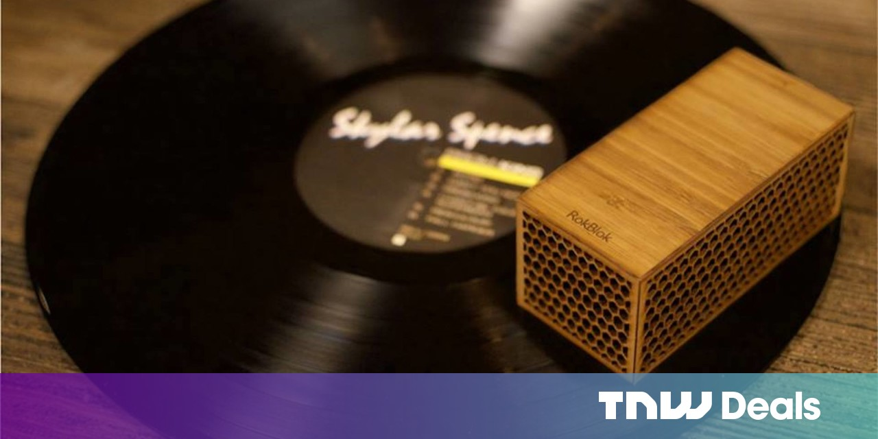 RokBlok is basically a turntable in your pocket, and it can be yours for $89