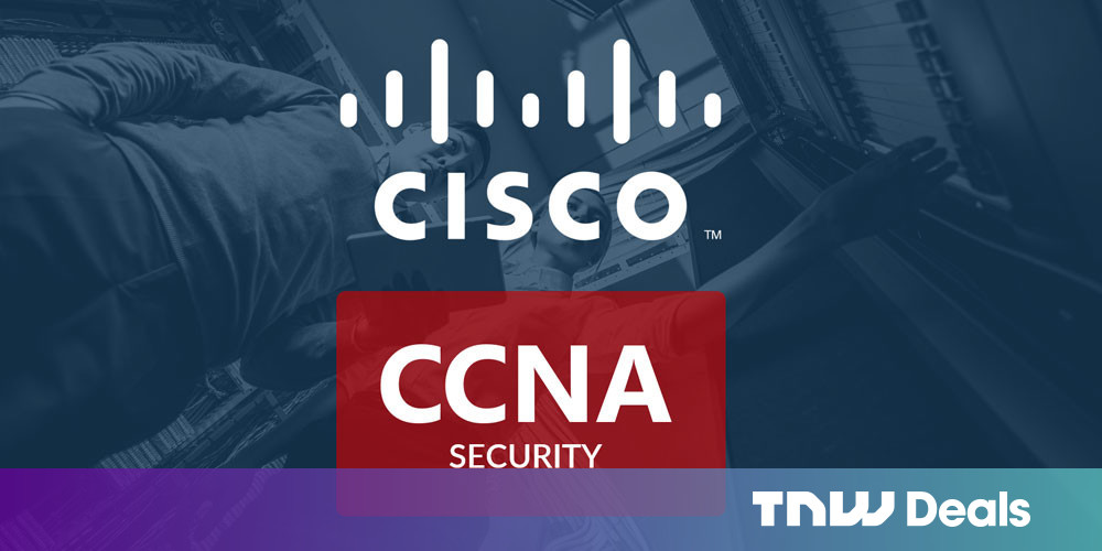 photo of This $29 Cisco course bundle can kickstart your cybersecurity career image
