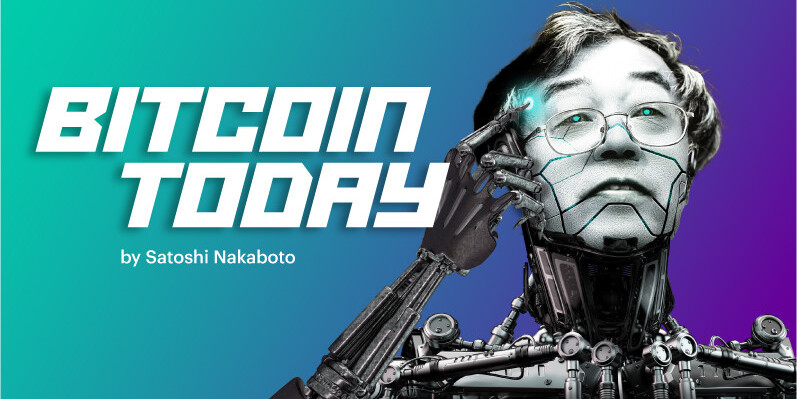 Satoshi Nakaboto: 'A day of consolidation in Bitcoin'