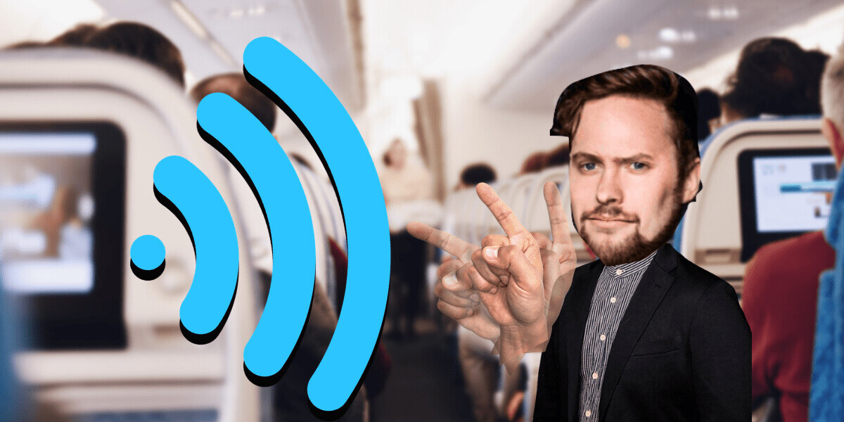 Just putting it out there: Ban Wi-Fi on airplanes