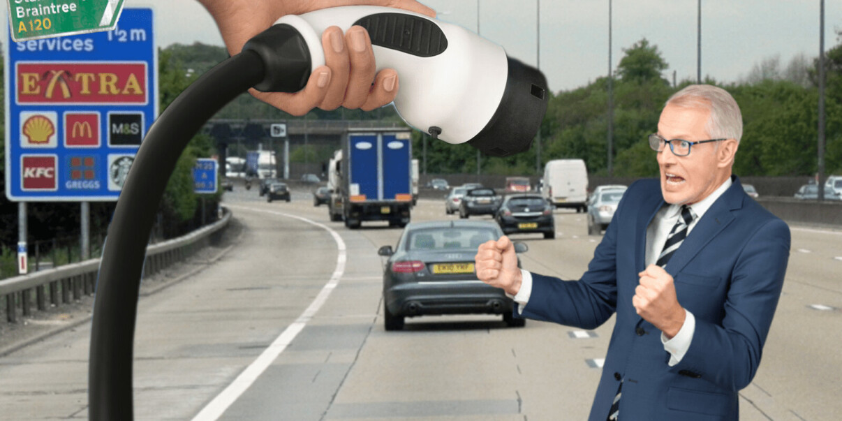 The UK's first EV-only service station set to open soon