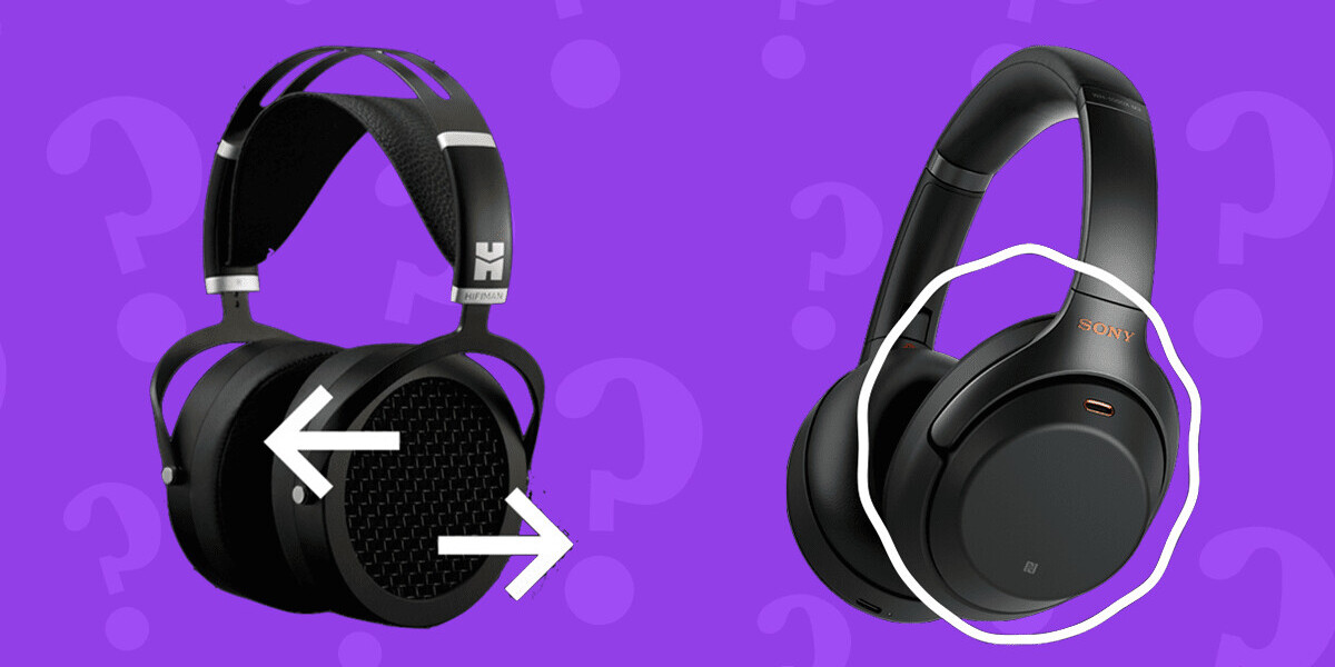 What's the difference between open-back and closed-back headphones?